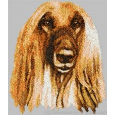Embroidered Afghan Hound DLE3658