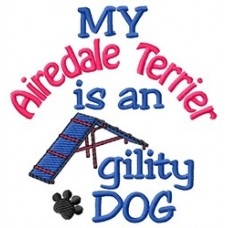 My Airedale Terrier is an Agility Dog