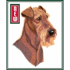 Embroidered Airedale Terrier BT7063