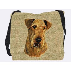 Woven Tote - Airedale Terrier