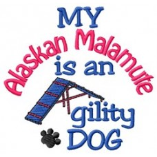 My Alaskan Malamute is an Agility Dog