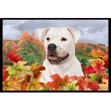 Fall Floor Mat - American Bulldog
