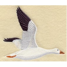 Embroidered Snow Goose M2035