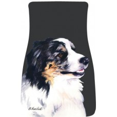 Car Floor Mat Pair (BVV)  - Australian Shepherd