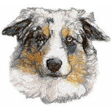Embroidered Australian Shepherd AED16048