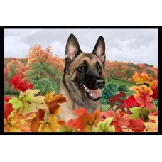 Fall Floor Mat - Belgian Malinois