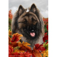 Indoor/Outdoor Fall Flag - Belgian Tervuren (TB)