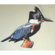 Embroidered Kingfisher BT3901
