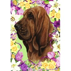 Indoor/Outdoor Easter Flag - Bloodhound (TB)