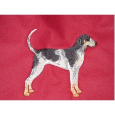 Embroidered Bluetick Coonhound C9622