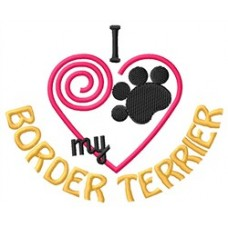 Embroidered Border Terrier 1381R