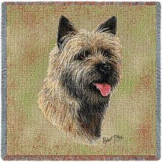 Woven Tote, Blanket or Pillow - Cairn Terrier II