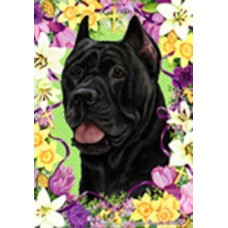 Indoor/Outdoor Easter Flag - Cane Corso, Black (TB)