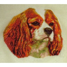 Embroidered Cavalier King Charles Spaniel DLE1504