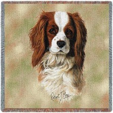 Woven Tote, Blanket or Pillow - Cavalier King Charles Spaniel