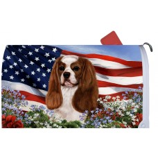 Mail Box Cover - Blenheim Cavalier King Charles Spaniel