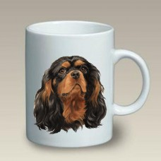 Ceramic Mug (LP) - Black and Tan Cavalier King Charles Spaniel