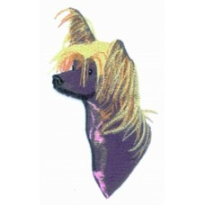 Embroidered Chinese Crested BT3075