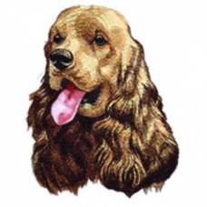 Embroidered Cocker Spaniel DTL001