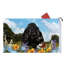 Mail Box Cover - Black Cocker Spaniel