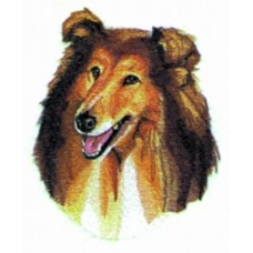 Embroidered Collie  BT2492