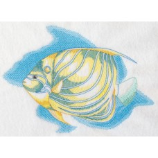 Embroidered Angel Fish J9625