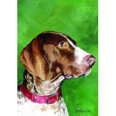 Indoor/Outdoor Decorative Flag - German Shorthaired Pointer (BVV)