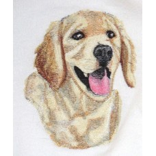 Embroidered Golden Retriever BT7071