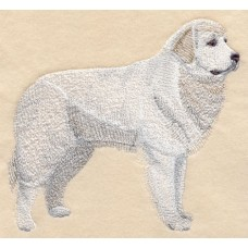 Embroidered Great Pyrenees C9601