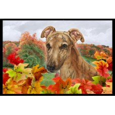 Fall Floor Mat - Red Greyhound