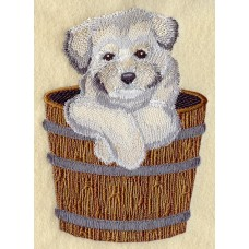 Embroidered Havanese I1278
