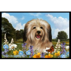 Summer Floor Mat - Cream Havanese