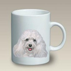 Ceramic Mug (LP) - White Havanese