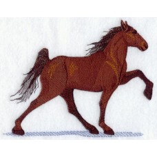 Embroidered Horse A9059