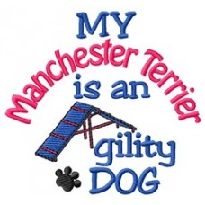 My Manchester Terrier is an Agility Dog