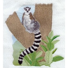 Embroidered Lemur M1910