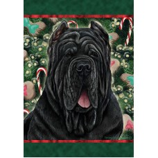 Indoor/Outdoor Holiday Flag - Neapolitan Mastiff (TB)