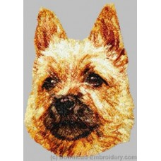 Embroidered Norwich Terrier DLE2494