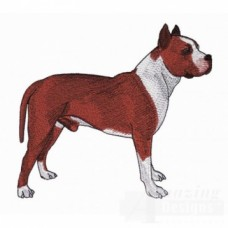Embroidered Pit Bull Terrier AD216