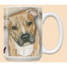 15 oz. Ceramic Mug - Pit Bull Terrier