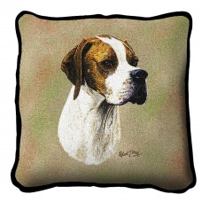 Woven Pillow - Pointer