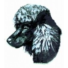 Embroidered Poodle BT2396