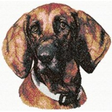 Embroidered Redbone Coonhound AED16342