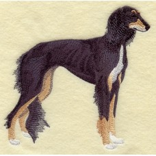 Embroidered Saluki C9661