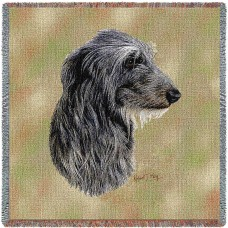 Woven Blanket - Scottish Deerhound