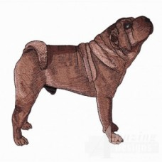 Embroidered Shar Pei AD217