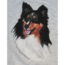 Embroidered Shetland Sheepdog Sheltie BT4437