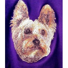 Embroidered Silky Terrier AED16397