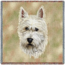 Woven Blanket - West Highland White Terrier