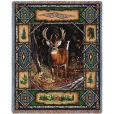 Woven Throw - Deer Lodge
